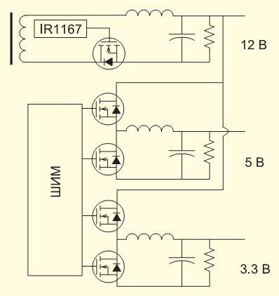 схема принципиальная hp