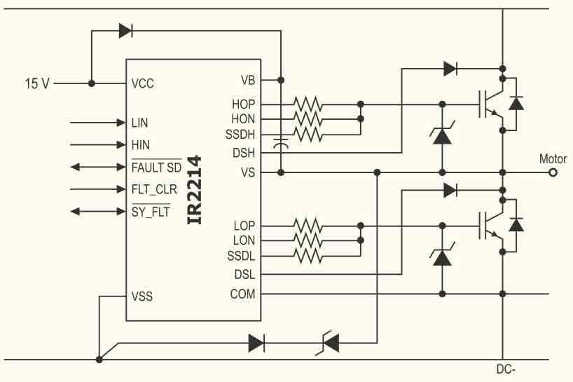 Рисунок 3. Схема включения ИС